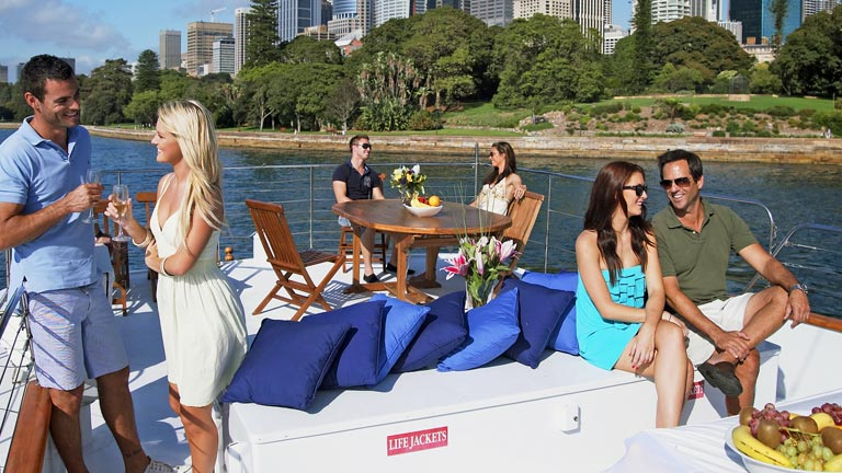 Rhemtide Sydney Harbour Cruise Party Hire